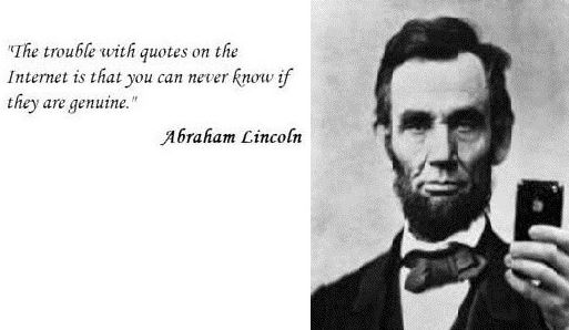Abraham Lincoln Quotes On the Internet