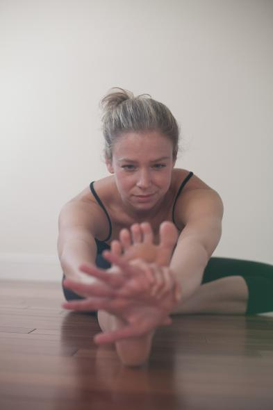 Chrissy Carter, Yoga Teacher Magazine